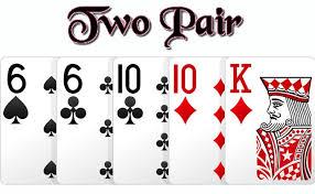 urutan kartu poker two pair